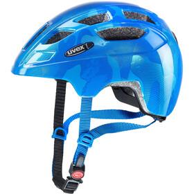 UVEX Finale - Casque de vélo Enfant - LED bleu